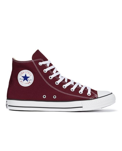 Converse All Star HI Canvas Bordeaux