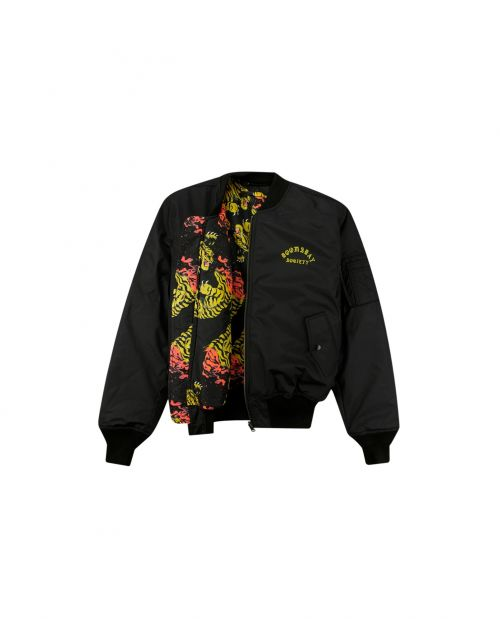Doomsday Society ENDLESS FIGHT BOMBER JACKET3