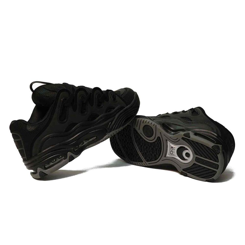OSIRIS Scarpe D3 Black : Black : Black