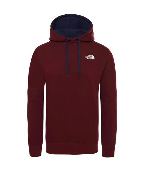 The North Face Seas Drew Peak HD Men's Sweatshirt red