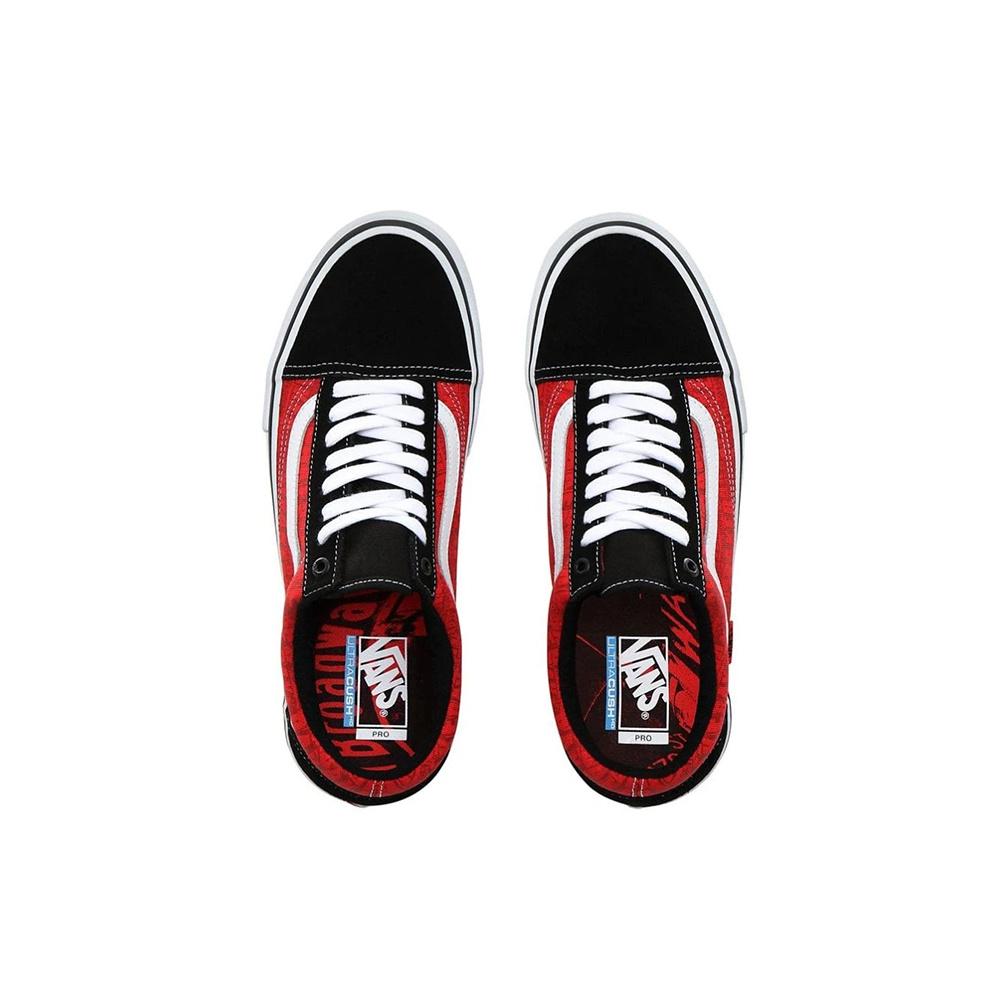 Vans Old Skool Pro Baker Black: White: Red