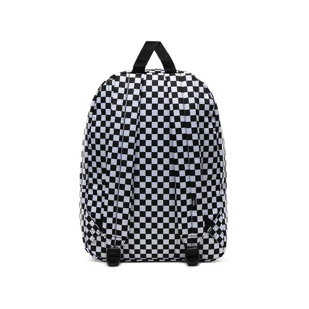 Vans Zaino Old Skool III B - Checkerboard White