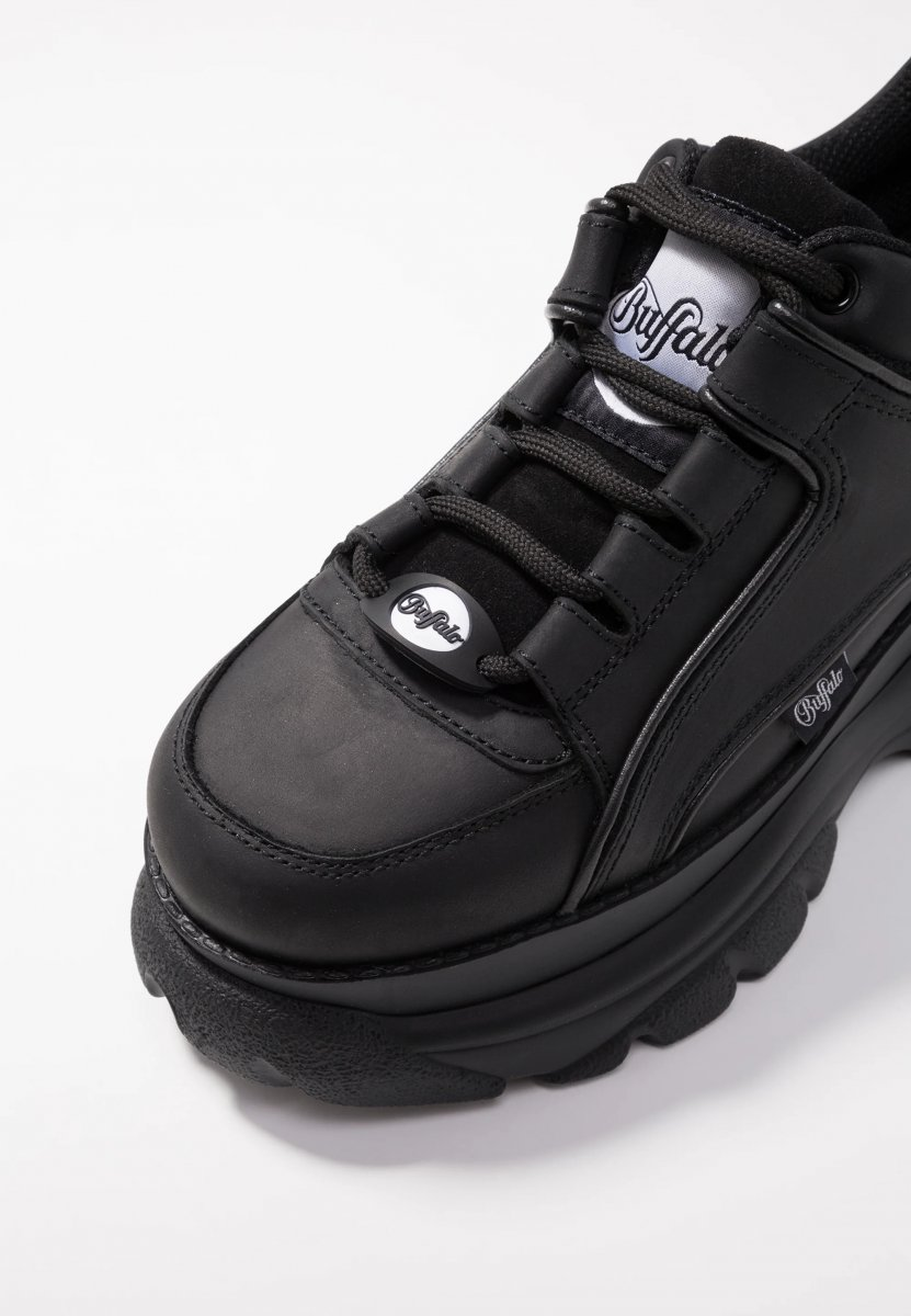 Buffalo-London-CLD-Corin-Sneaker-Leather-Effect-Black