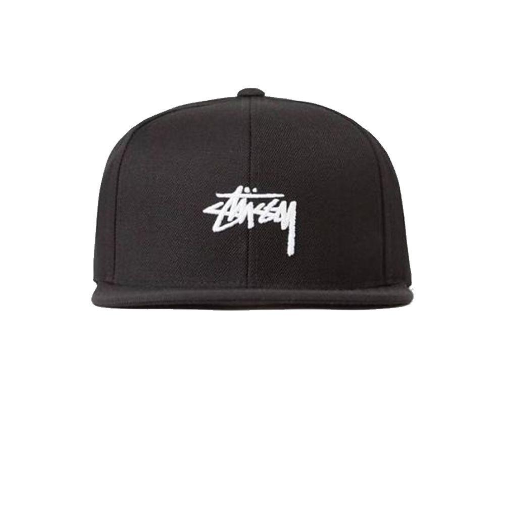 stussy-stock-cap-black