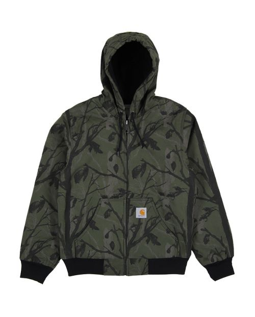 CARHARTT Active Jacket CamoTREEGREEN1