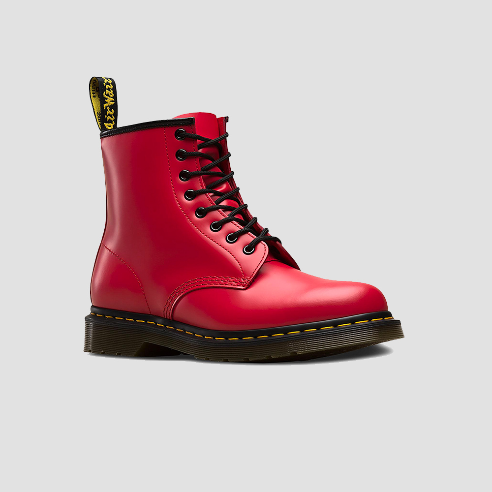 Dr. Martens 1460 w SATCHEL RED Smooth