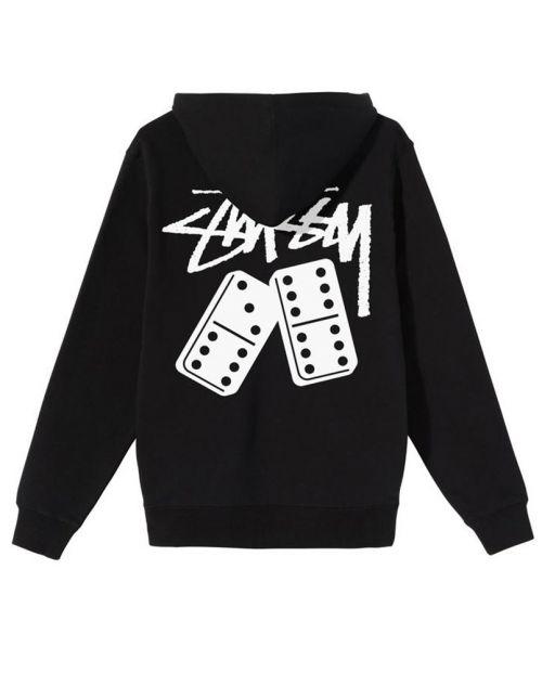 Stussy Dominoes Hood Black2
