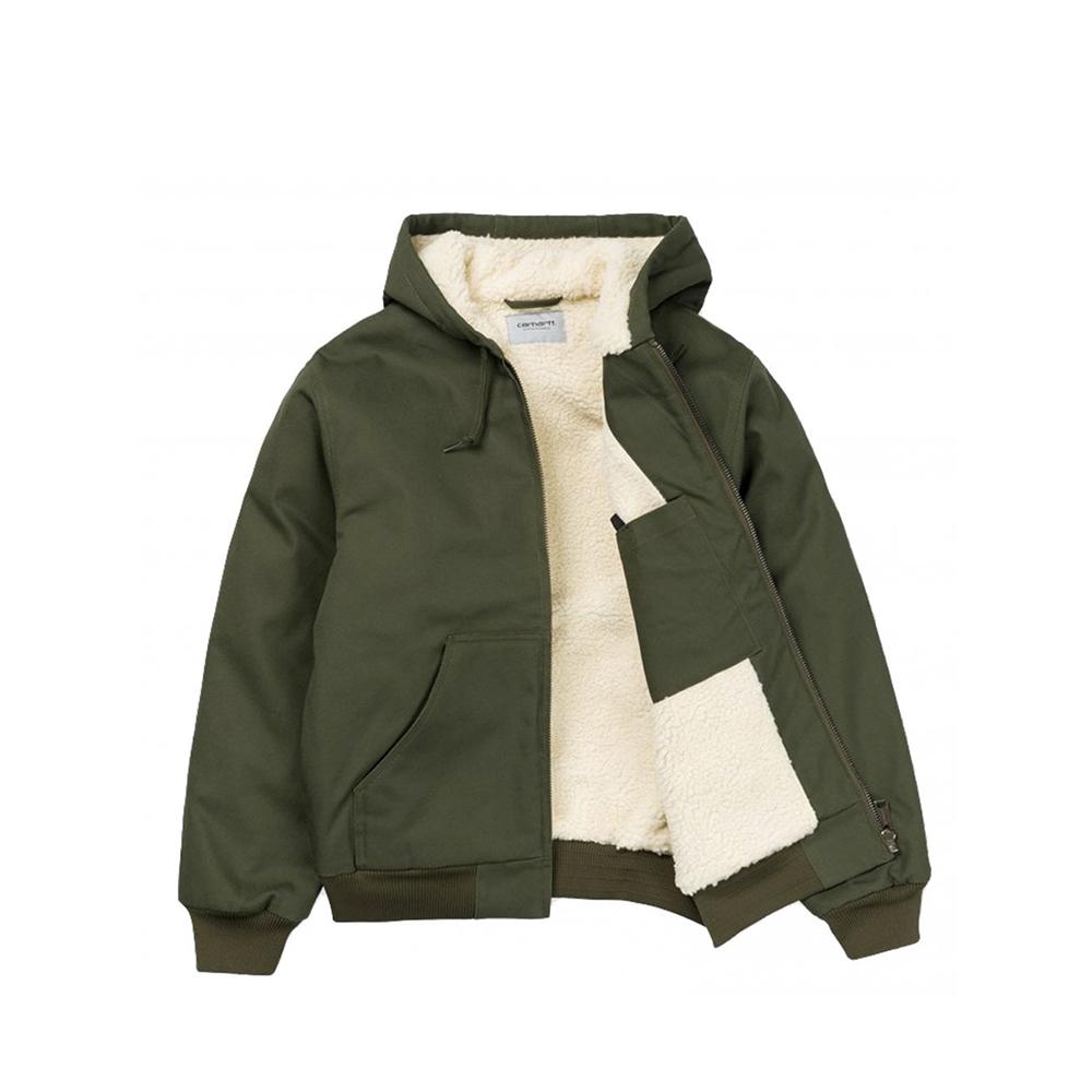 carhartt-wip active pile jacket cypress