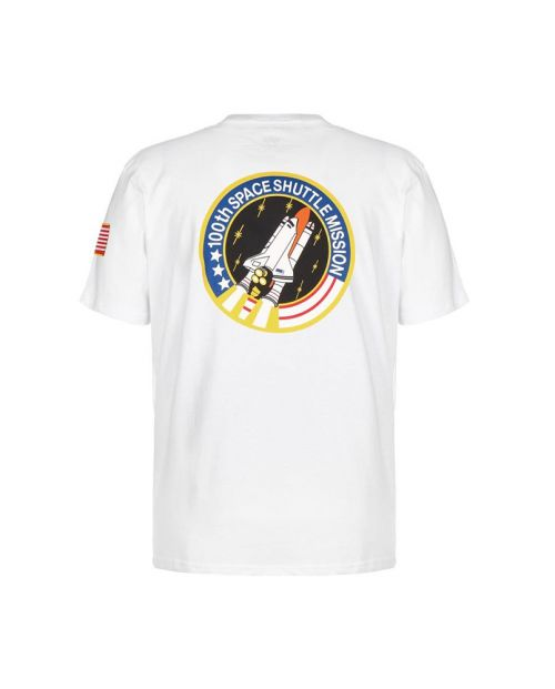 Alpha Industries Space Shuttle T - White