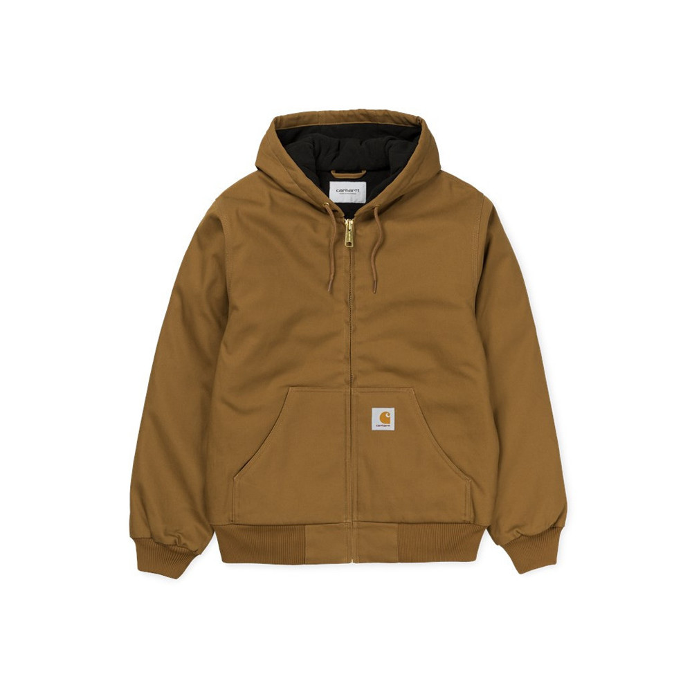 CARHARTT Giubbotto active jacket Hamilton Brown