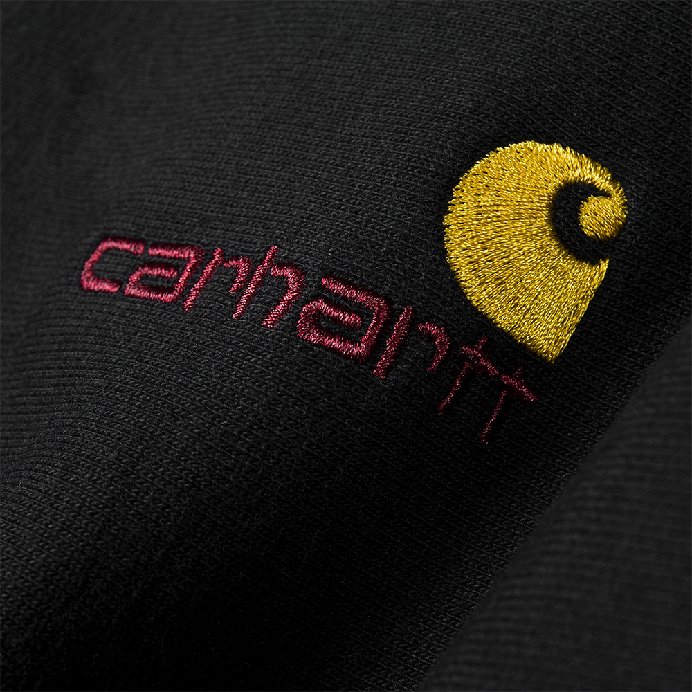 Carhartt American Script Sweat -Black