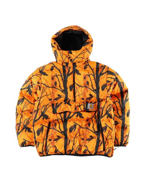 Carhartt Jones Pullover CamoTree Orange