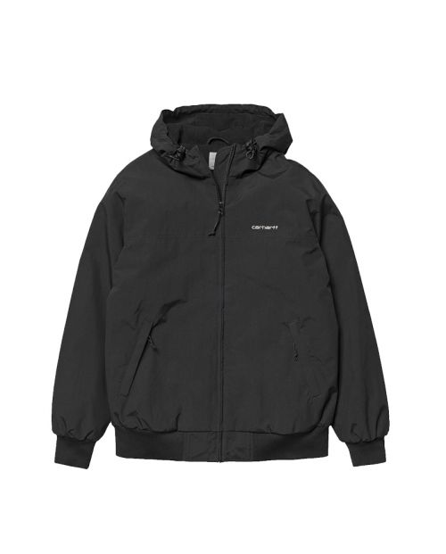 Carhartt black Hooded Sail Jacket