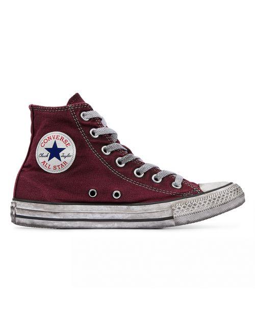 Converse All Star HI Canvas LTD Maroon Smoke1
