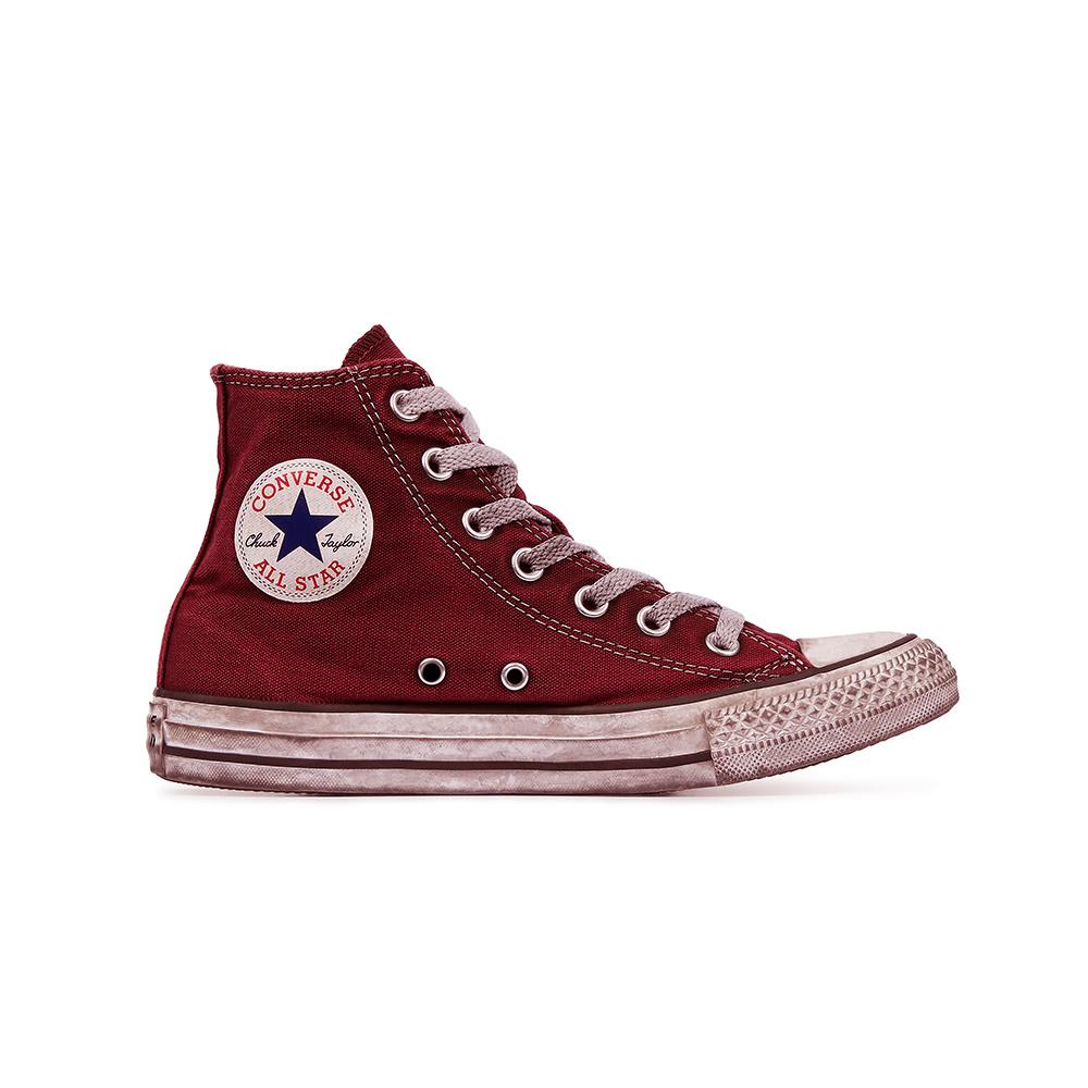 Converse All Star HI Canvas LTD Red Smoke
