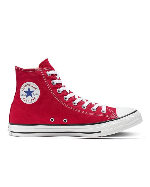 Converse All Star HI Canvas Red