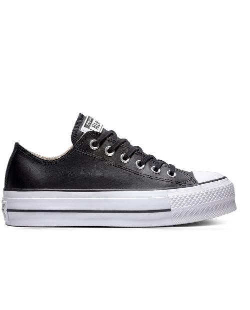 Converse CTAS Lift Clean Leather Black