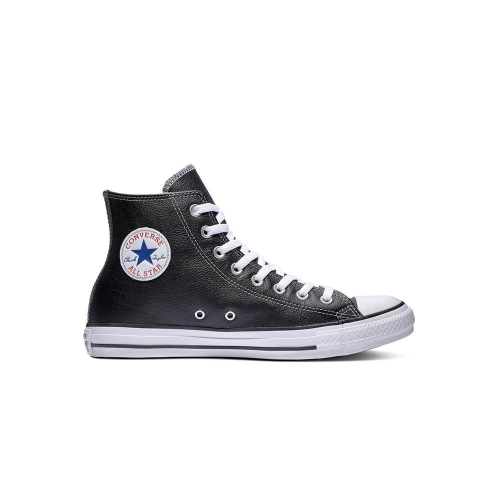 Converse Ctas Hi Leather Black