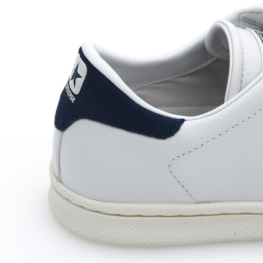 Converse Pro Leather LP OX -White Dusty:D (retro blue)