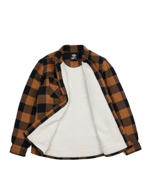 Dickies Lansdale Shirt -Brown