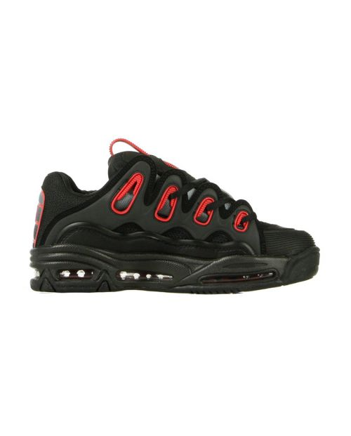 OSIRIS Scarpe 2001 D3 Black: Red: Fade