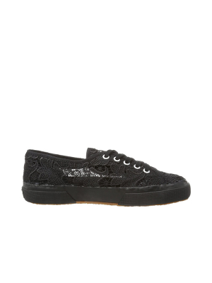 Superga Scarpa 2750 Macramew Full black