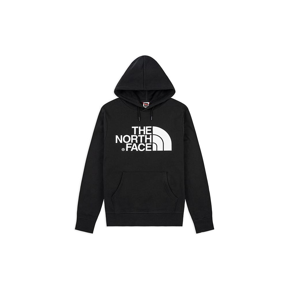 The North Face Felpa Standard Hoodie Black
