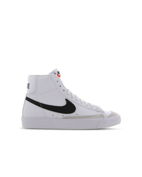 Nike Scarpe Blazer MID 77 (GS) Wht/Blk Team Orange